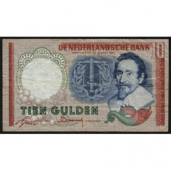 Hollande - Pick 85_1b - 10 gulden - 23/05/1953 - Etat : TB+