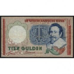 Hollande - Pick 85_2 - 10 gulden - 23/05/1953 - Etat : TB-
