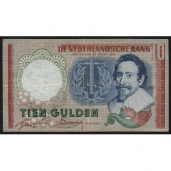 Hollande - Pick 85_2 - 10 gulden - 23/05/1953 - Etat : TTB-