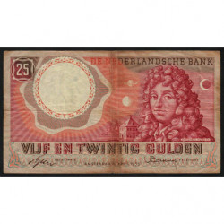 Hollande - Pick 87_1 - 25 gulden - 10/04/1955 - Etat : TB-