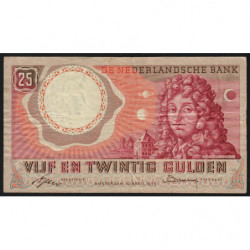 Hollande - Pick 87_1 - 25 gulden - 10/04/1955 - Etat : TB