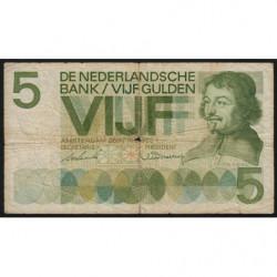 Hollande - Pick 90a - 5 gulden - 20/04/1966 - Etat : B+