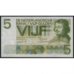 Hollande - Pick 90a - 5 gulden - 20/04/1966 - Etat : SUP