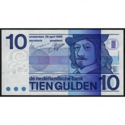 Hollande - Pick 91b - 10 gulden - 25/04/1968 - Etat : pr.NEUF