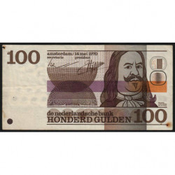 Hollande - Pick 93 - 100 gulden - 14/05/1970 - Etat : TB