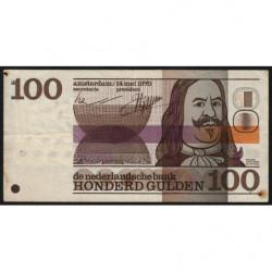 Hollande - Pick 93 - 100 gulden - 14/05/1970 - Etat : TB