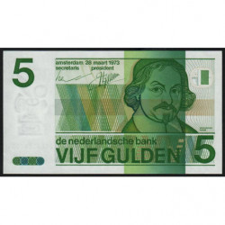 Hollande - Pick 95 - 5 gulden - 28/03/1973 - Etat : SPL