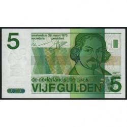 Hollande - Pick 95 - 5 gulden - 28/03/1973 - Etat : SPL