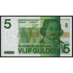 Hollande - Pick 95 - 5 gulden - 28/03/1973 - Etat : pr.NEUF