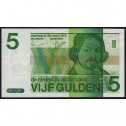 Hollande - Pick 95 - 5 gulden - 28/03/1973 - Etat : SUP+