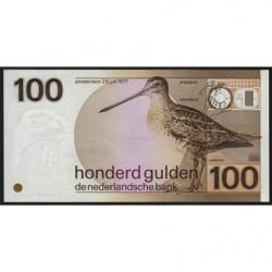 Hollande - Pick 97 - 100 gulden - 08/07/1977 - Etat : pr.NEUF