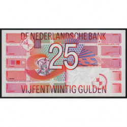 Hollande - Pick 100 - 25 gulden - 05/04/1989 - Etat : NEUF