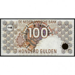 Hollande - Pick 101 - 100 gulden - 09/01/1992 - Etat : NEUF