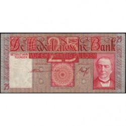 Hollande - Pick 50_2 - 25 gulden - 01/10/1940 - Etat : TB+