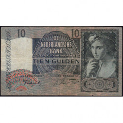 Hollande - Pick 56b - 10 gulden - 06/09/1941 - Etat : TB
