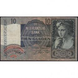Hollande - Pick 56b - 10 gulden - 06/09/1941 - Etat : TB