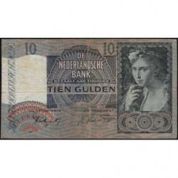 Hollande - Pick 56b - 10 gulden - 06/11/1941 - Etat : TB+
