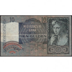 Hollande - Pick 56b - 10 gulden - 04/12/1941 - Etat : TB+