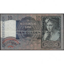 Hollande - Pick 56b - 10 gulden - 07/02/1942 - Etat : TB+