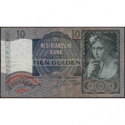 Hollande - Pick 56b - 10 gulden - 28/02/1942 - Etat : TB+