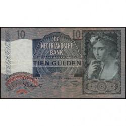 Hollande - Pick 56b - 10 gulden - 28/02/1942 - Etat : TB+