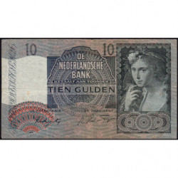 Hollande - Pick 56b - 10 gulden - 29/04/1942 - Etat : TB+