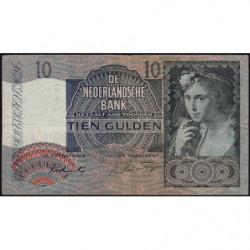Hollande - Pick 56b - 10 gulden - 29/04/1942 - Etat : TB+