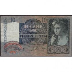 Hollande - Pick 56b - 10 gulden - 25/06/1942 - Etat : TB+