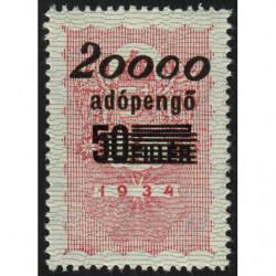 Hongrie - Timbre monnaie - 20'000 adópengö - 1946 - Etat : NEUF