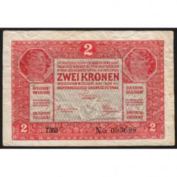 Hongrie - Pick 11a - 2 korona - 01/03/1917 - Etat : TB-