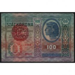 Hongrie - Pick 27 - 100 korona - 1920 - Etat : TTB