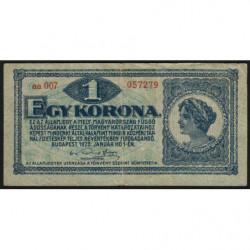 Hongrie - Pick 57 - 1 korona - 01/01/1920 - Etat : TTB