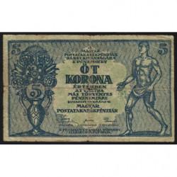 Hongrie - Pick 35 - 5 korona - 15/05/1919 - Etat : B+