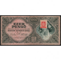 Hongrie - Pick 118b - 1'000 pengö - 15/07/1945 - Etat : TB+