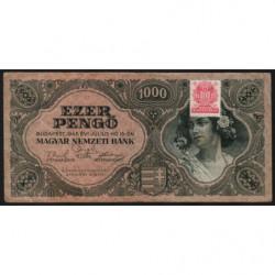 Hongrie - Pick 118b - 1'000 pengö - 15/07/1945 - Etat : TB
