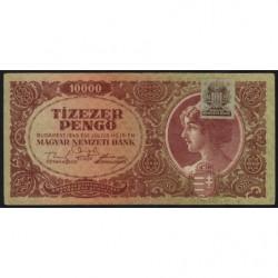 Hongrie - Pick 119b - 10'000 pengö - 15/07/1945 - Etat : TTB