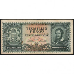 Hongrie - Pick 123 - 10'000'000 pengö - 16/11/1945 - Etat : TB+