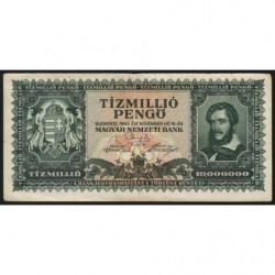 Hongrie - Pick 123 - 10'000'000 pengö - 16/11/1945 - Etat : TTB