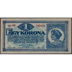 Hongrie - Pick 57 - 1 korona - 01/01/1920 - Etat : NEUF