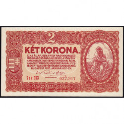 Hongrie - Pick 58 - 2 korona - 01/01/1920 - Etat : NEUF