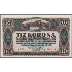 Hongrie - Pick 60 - 10 korona - 01/01/1920 - Etat : pr.NEUF