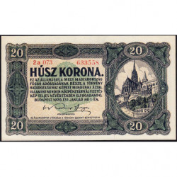 Hongrie - Pick 61 - 20 korona - 01/01/1920 - Etat : NEUF