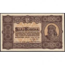 Hongrie - Pick 73 - 100 korona - 01/07/1923 - Etat : NEUF
