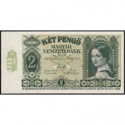 Hongrie - Pick 108 - 2 pengö - 15/07/1940 - Etat : NEUF