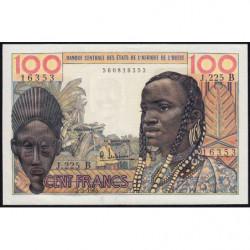 Bénin - Pick 201Be - 100 francs - Série J.225 - 02/03/1965 - Etat : SUP+