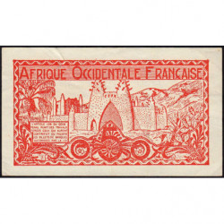 AOF - Pick 33_1 - 50 centimes - 1944 - Etat : TTB