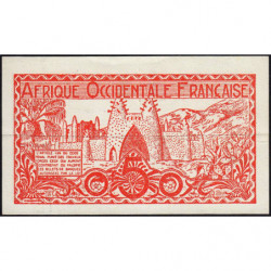 AOF - Pick 33_1 - 50 centimes - 1944 - Etat : TTB+