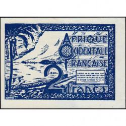 AOF - Pick 35_2 - 2 francs - 1944 - Etat : SPL+