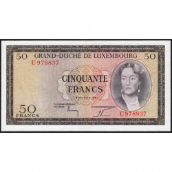 Luxembourg - Pick 51 - 50 francs - 06/02/1961 - Etat : NEUF