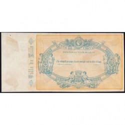 Ville de Lille - Jer 59.40C - 20 francs - 17/09/1870 - Epreuve - Etat : SUP